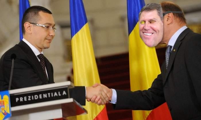 Disperaţi, liderii ACL îl imploră pe Băsescu să meargă costumat în Iohannis la următoarea dezbatere