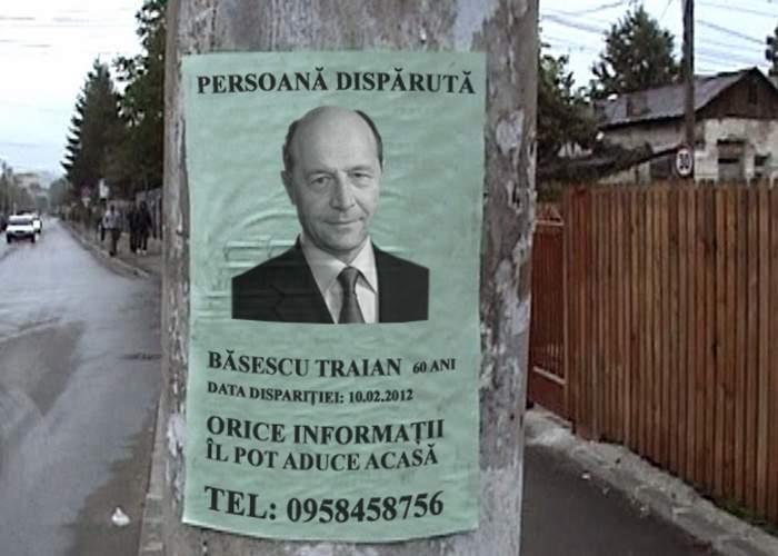 Traian Băsescu, pus pe lista persoanelor dispărute. Nimeni nu mai ştie nimic de el