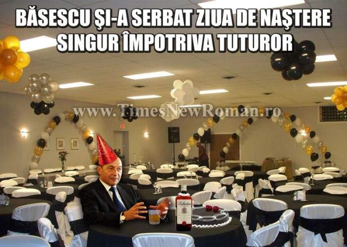Nici un şef de stat n-a onorat invitaţia la petrecerea dată în cinstea lui Băsescu