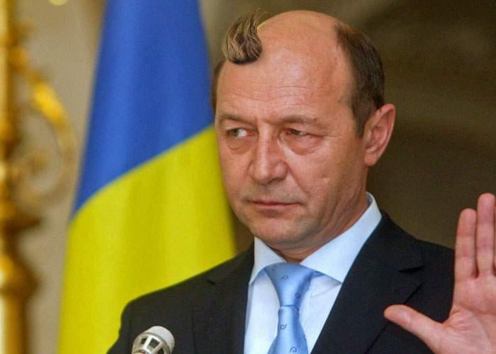 Minune dumnezeiască: În locul unde a fost scuipat Băsescu în chelie a început să crească păr