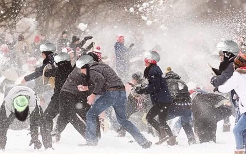 Ninge la Bagdad! Șiiții și suniții s-au bătut cu bulgări în plină stradă