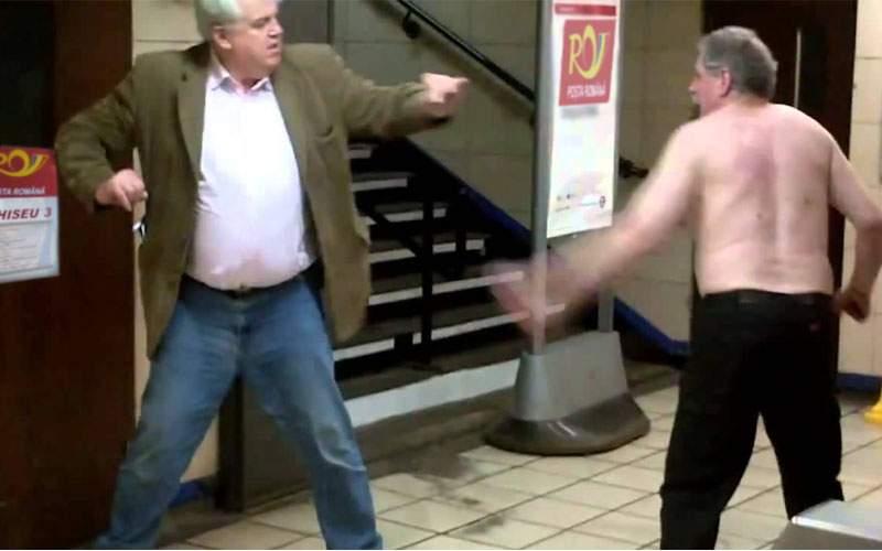 Bătaie cruntă între doi pensionari, după ce-au aflat că unul e depeşar şi celălalt rocker
