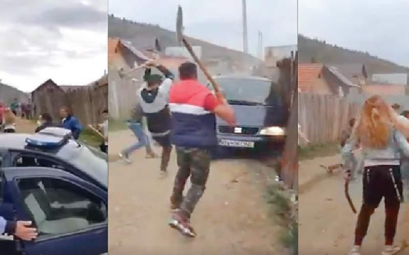 Polițiști vor primi și spor de rușine, că tot iau bătaie de la clanurile de interlopi