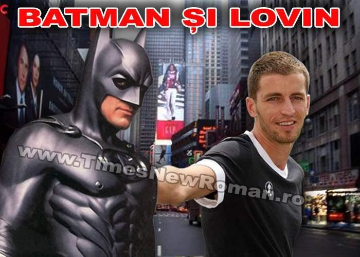 """Batman şi Lovin"" vor juca pentru Gotham City, rivala lui Gotham United"