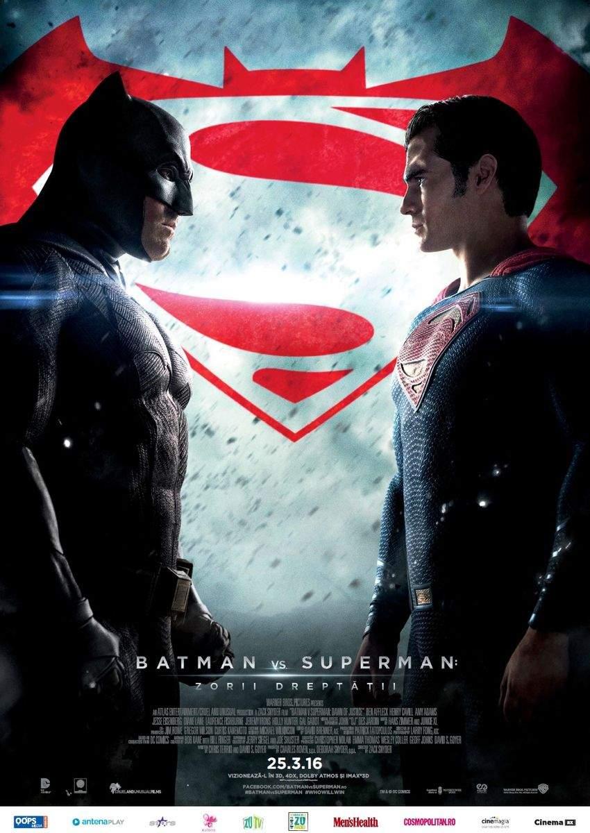 Batman v Superman: Dawn of Justice (2016) 3D – Viața e un meci la categoria nu prea
