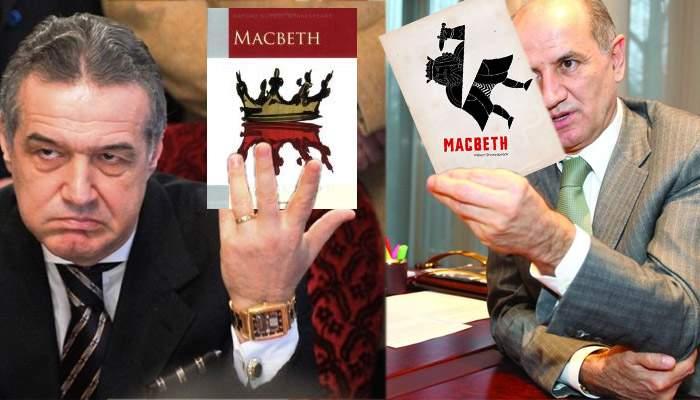 Acuze grave: Becali îl suspectează pe Copos că ar fi copiat din cartea sa, Macbeth