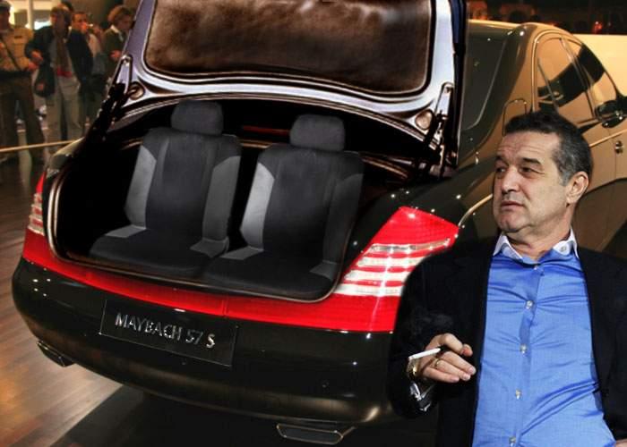 Becali a comandat un Maybach cu 2 locuri în portbagaj