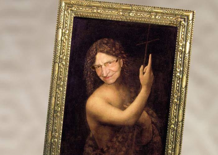 Statul român vrea să cumpere un portret al lui Radu Beligan, pictat de Leonardo da Vinci