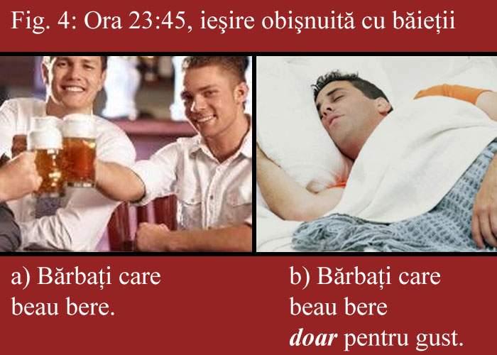 Studiu în baruri: Bărbaţii care beau berea doar pentru gust pleacă întotdeauna primii acasă