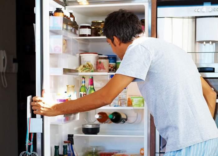 Gest bărbătesc! Un bucureştean a scos salata nevestei din frigider ca să-şi pună berile la rece