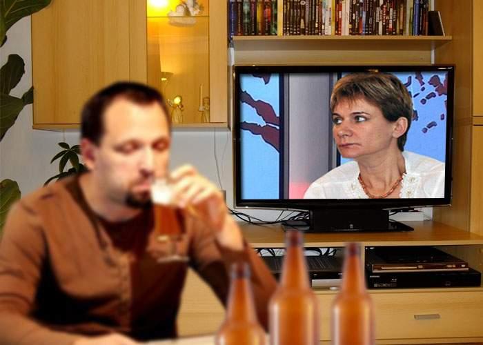 Un bărbat a ajuns în comă alcoolică, după ce a încercat să bea până i se pare Andreea Pora frumoasă