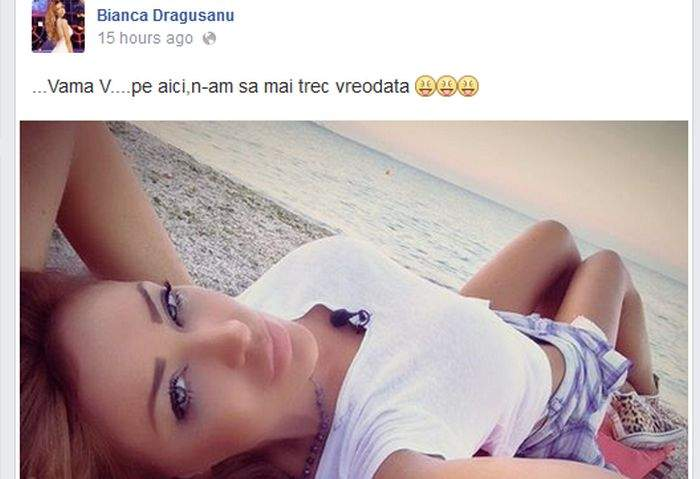 """Bianca Drăgușanu, dezamăgită de Vama Veche: """"Aici nimeni nu plătește pentru sex, toți o fac gratis"""""""