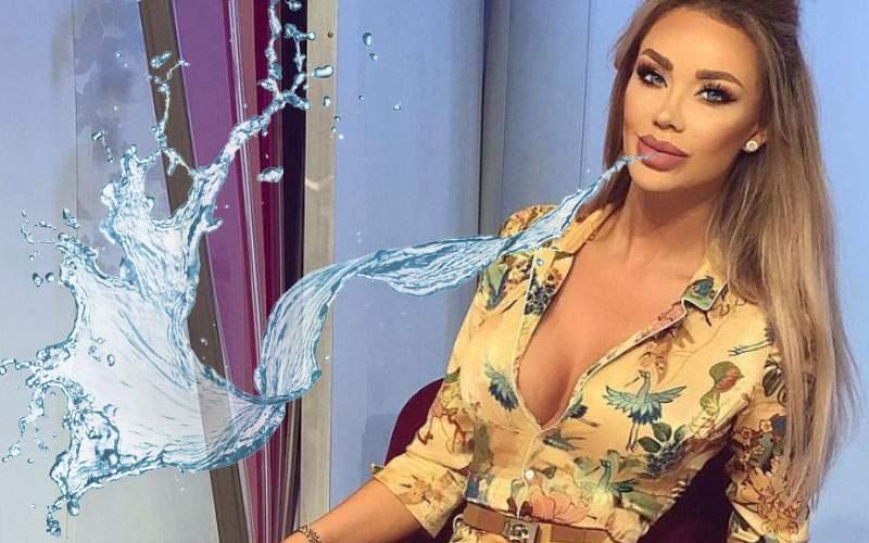 Bianca Drăgușanu și-a inundat vecinii cu botox după ce i s-a spart buza