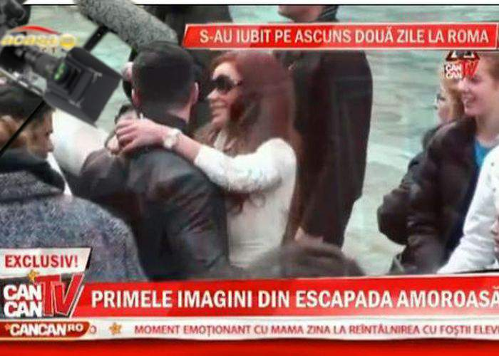 Jenant! Există români care nu ştiu că video-ul cu Bianca şi Victor Slav la Roma este regizat