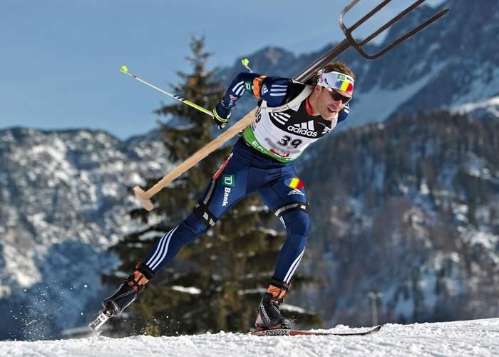 Stupefacţie la Soci: La proba de biathlon, românul a venit cu furca în loc de puşcă