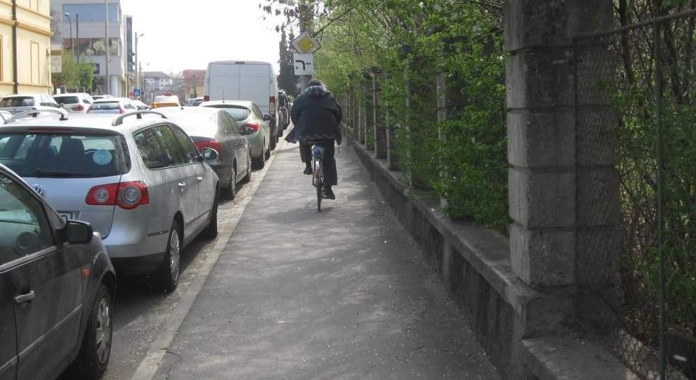 Studiu! Cel mai prost animal al planetei e biciclistul care claxonează pietonii pe trotuar