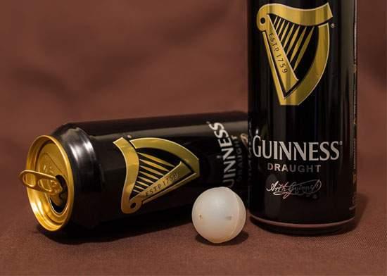 Curiozităţi! La ce foloseşte bila de căcat uscat din fiecare cutie de Guinness