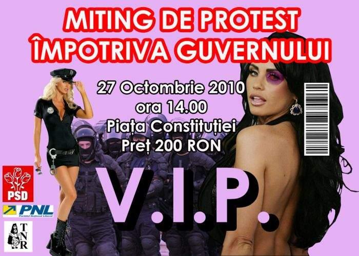 Concurs TNR: Câştigă 10 bilete VIP la manifestaţia de mâine din Piaţa Constituţiei