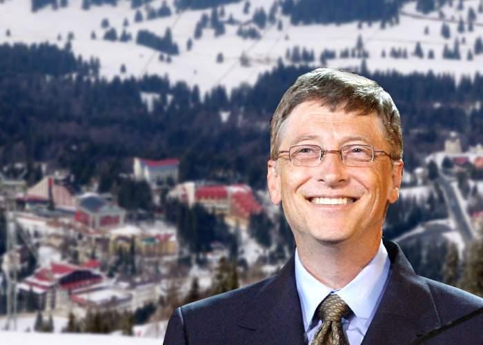 Bill Gates, cel mai sărac om din lume după ce şi-a rezervat cameră la Poiana Braşov de Revelion