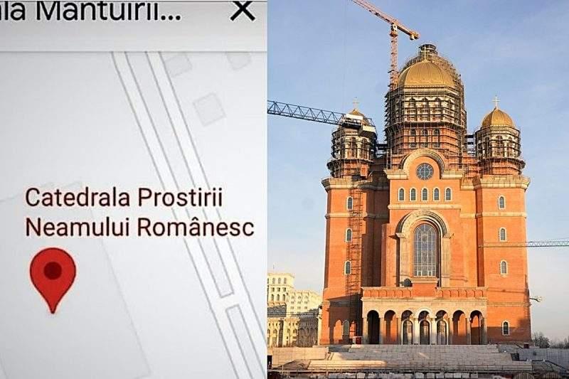 """Google, dat în judecată pentru """"Catedrala Prostirii Neamului"""" de Biserica Ofticoasă Română"""