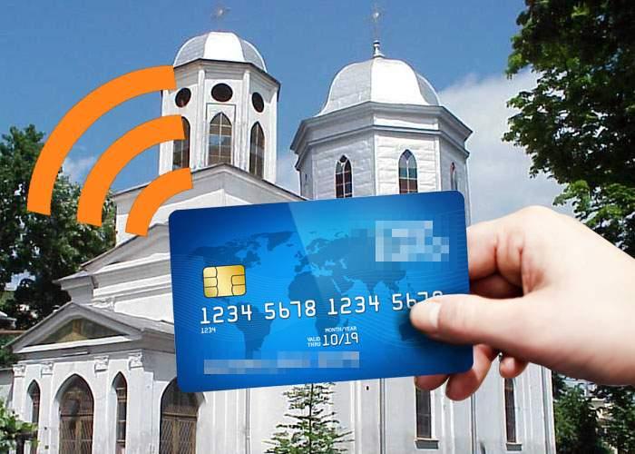 Pericolele cardului contactless! Unui român îi dispar bani din cont când trece pe lângă biserică