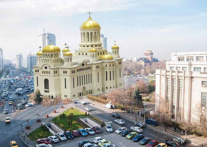 Gabi Firea confirmă: ca să nu mai fie loc de proteste, în Piaţa Victoriei se va construi o biserică