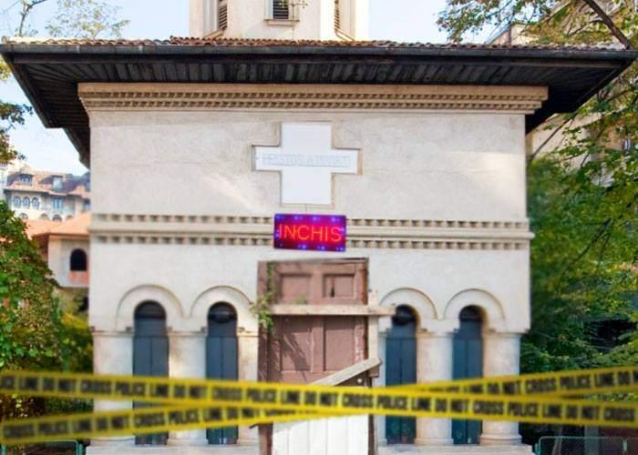 Pentru că au o singură intrare şi se lucrează cu foc deschis, toate bisericile vor fi închise de ISU