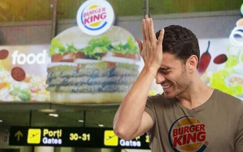 Burger King revine în România ca să închidă restaurantul din aeroport, de care uitase