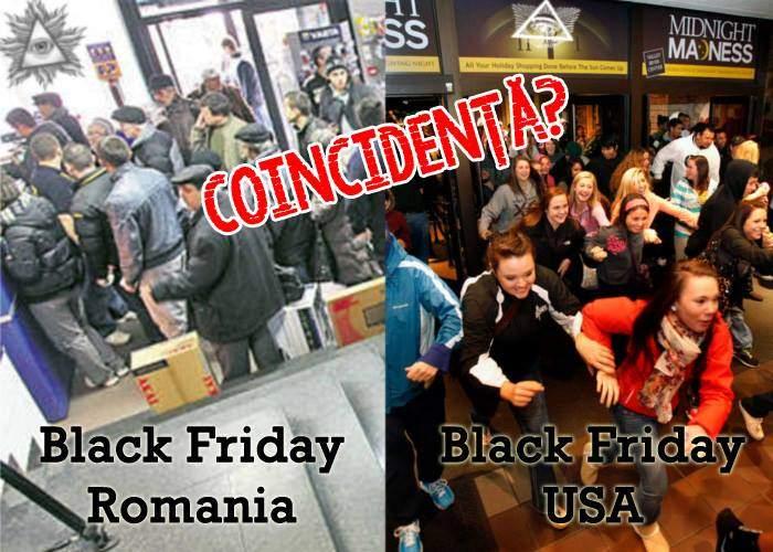 După ce că ne-au furat oina, acum ne fură și sărbătorile: în SUA e azi Black Friday