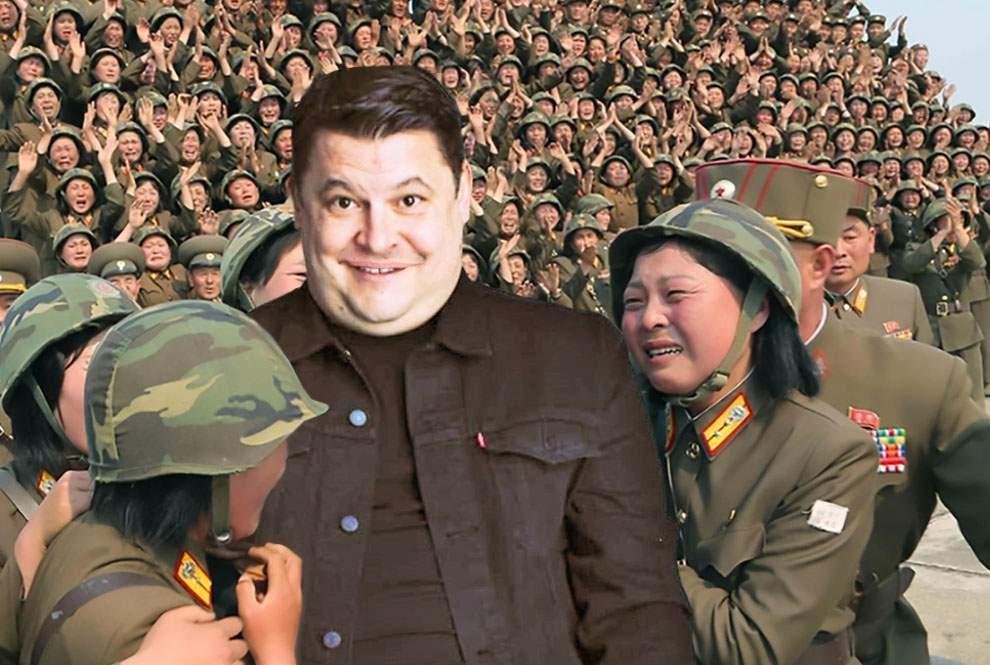 Mihai Bobonete, în rolul vieții. Și-a ras mustața și va fi sosia lui Kim Jong-un