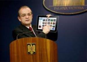 """Emil Boc: """"Economia duduie! Avem PIB-ul mai mare ca cifra de afaceri Apple"""""""