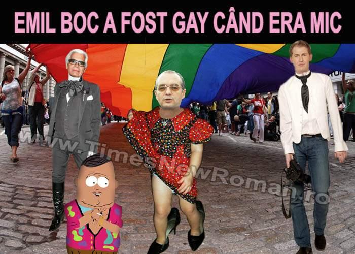 """Emil Boc: """"Nu pot fi acuzat că sunt heterosexual""""!"""