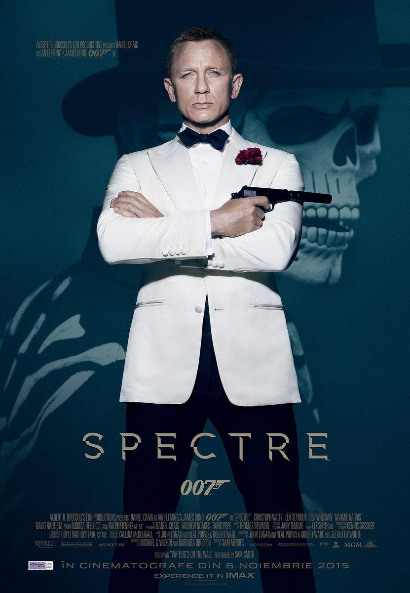 SPECTRE (2015) – Live and let's spy