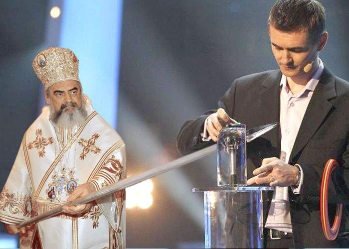 Patriarhul Daniel l-a condamnat pe mentalistul Cristian Gog la ardere pe rug
