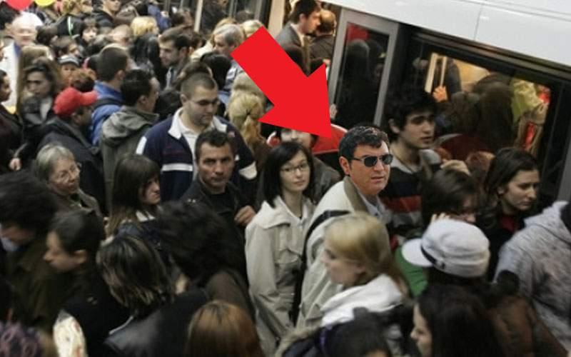 Explozie demografică! Borcea, prins în înghesuiala de dimineață de la metrou