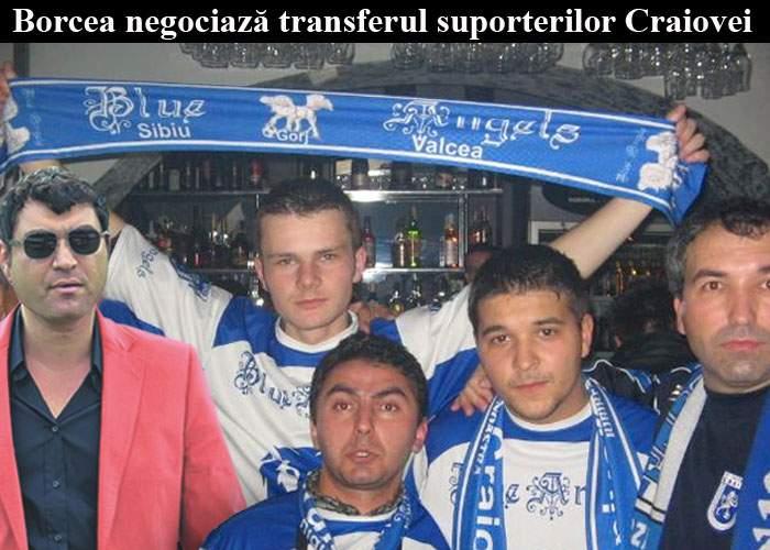 Cristi Borcea vrea să transfere întreaga galerie a Craiovei la Dinamo