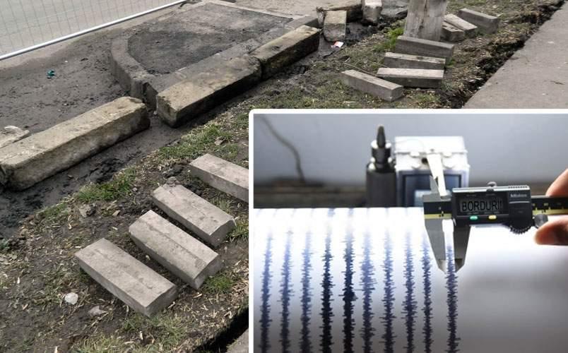 Efectele cutremurului, mai grave decât credeam! Trebuie schimbate iar bordurile