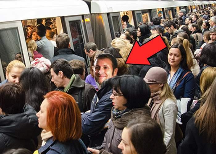 """Cătălin Botezatu: """"Ador metroul, mai ales dimineaţa, când e înghesuială"""""""