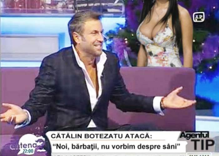 """Cătălin Botezatu: """"De ce să nu recunoaştem că nouă, bărbaţilor, nu ne plac sânii mari?!"""""""