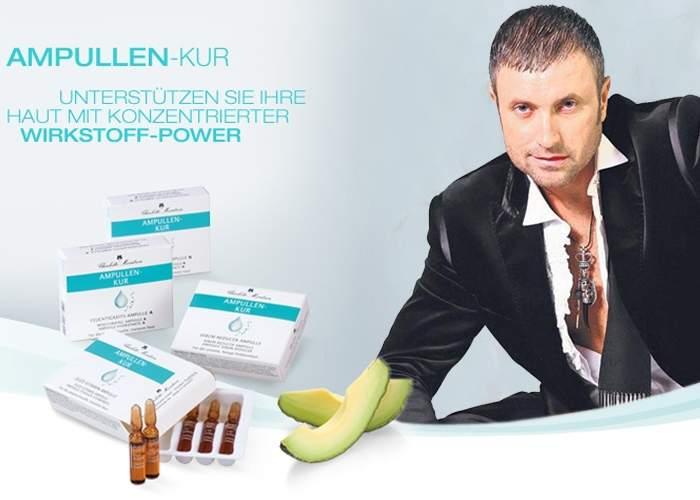 Poza zilei! Cătălin Botezatu, apreciat în Germania: a devenit imaginea produsului Ampullen-Kur