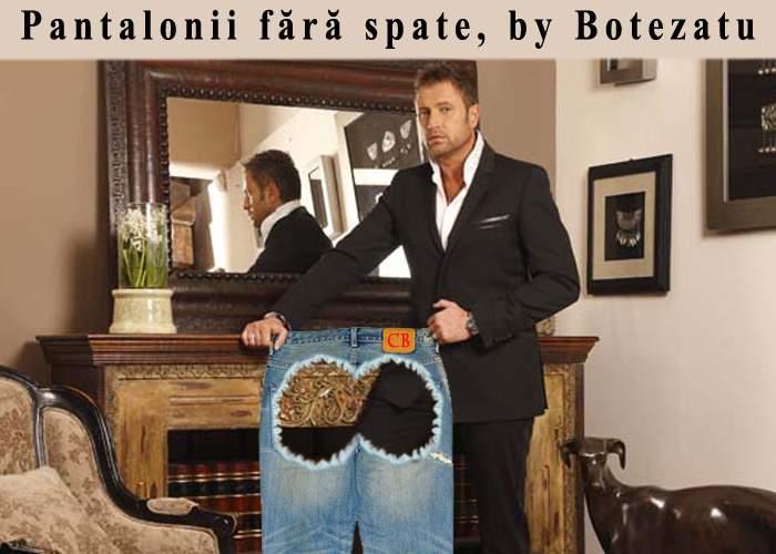 Cătălin Botezatu a lansat o colecţie de pantaloni fără spate