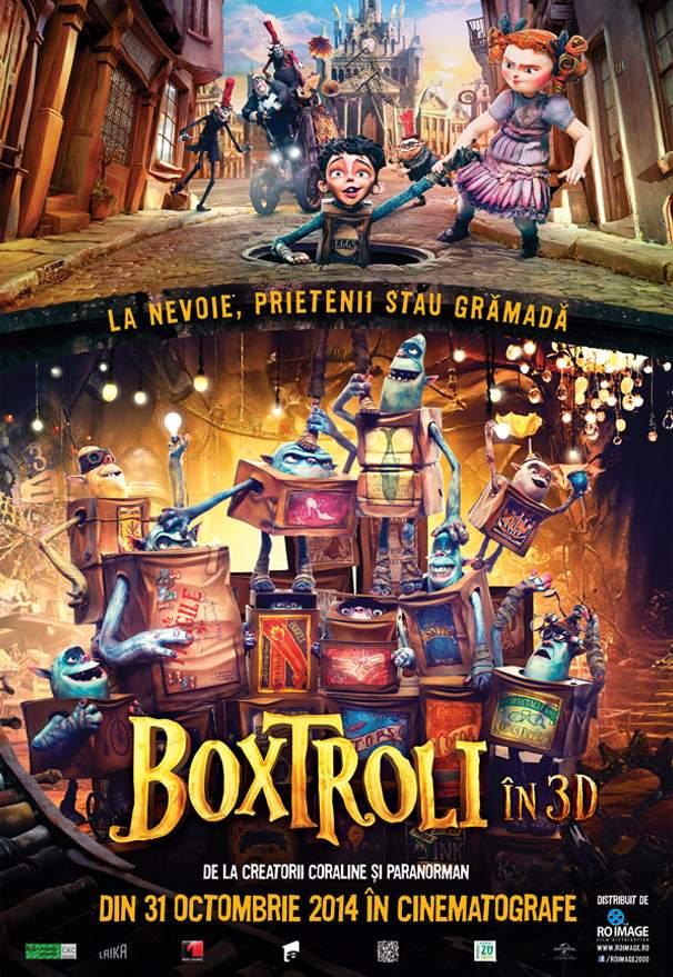 The Boxtrolls – Faceți terapie cu trollu' de cutie!