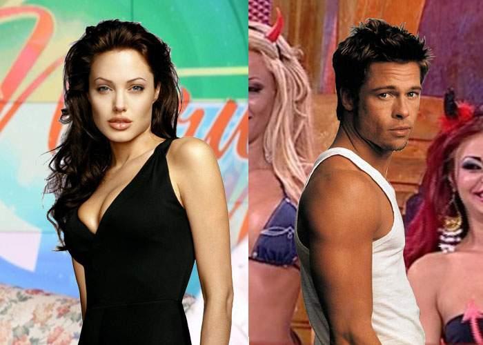 Încă un semn că s-au despărţit definitiv? Angelina Jolie a fost la Măruţă şi Brad Pitt la Capatos