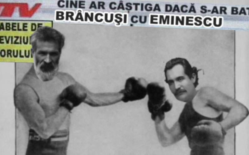"""Dezbatere la Academia Română: """"Cine ar câştiga dacă s-ar bate Brâncuşi cu Eminescu?"""""""