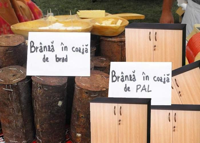 În plină criză, sibienii lansează un produs economic: brânză în coajă de PAL
