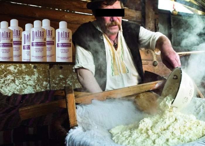 E grozavă pentru ten! Un cioban inventiv din Sibiu a reuşit să facă brânză din lapte Doina