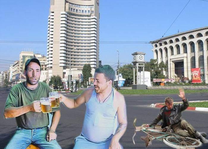 V-a trebuit mare! Pentru că a rămas pustiu în week-end, Bucureștiul a fost repopulat cu moldoveni