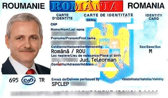Evidența Populației, amendată pentru că pe buletinul lui Dragnea apare poza unui țăran coclit