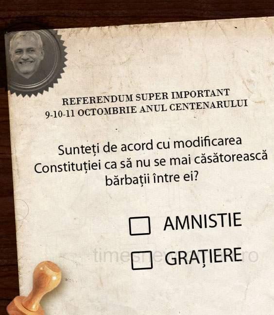 Poza zilei! Imagini scandaloase cu buletinele de vot de la referendumul din octombrie