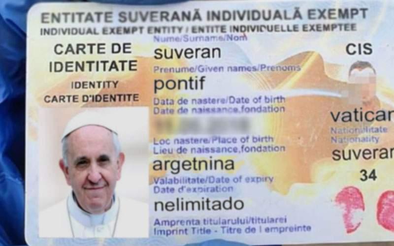 """Papa Francisc, bătut de jandarmi după ce s-a legitimat ca """"Suveran Pontif"""""""